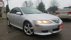 2004 MAZDA6 *Leather*Sunroof*Heated seats*more!!