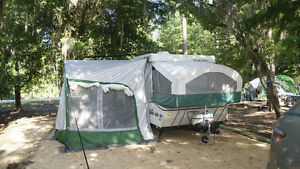 2001 Viking 1906 St Saga pop-up tent trailer
