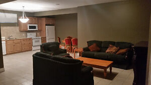 INNER CITY - HUGE & NEW! 2BR bsmt 9' CEILINGS - all is included