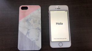 Iphone SE 16 rose à vendre