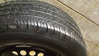 3 x P215/70R15 Michelin All season TIRES ONLY. 70% tread left.