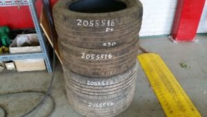 Set of 4 Michelin Premier AS 205/55R16 tires (55% tread life)