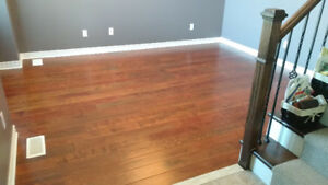 Used Engineered/Handscraped Hardwood Flooring - MUST GO