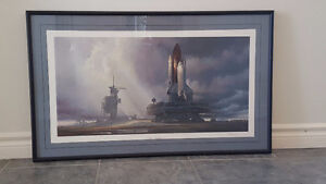 """""""Cape Winds"""" - framed Space Shuttle Print Kitchener / Waterloo Kitchener Area image 1"""