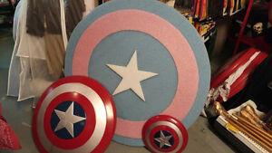Bouclier Capitaine América pour Halloween, costumes, déguisement