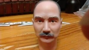 "1/6 Scale Head Sculpt For 12""  Male Action Figure Body"
