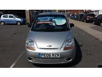 2006 CHEVROLET MATIZ 0.8 SE Automatic 5 Door From GBP2,495 + Retail Package