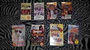 Lot Of 35 WWF/WWE Wrestling VHS Videos