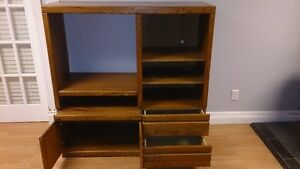 Entertainment Stand in fair condition