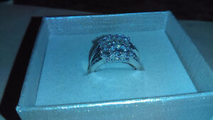 Wedding ring & band 4 sale! London Ontario image 3