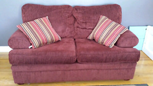 Loveseat & two chairs