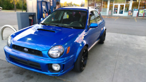 Flared 2003 wrx wagon