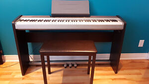 Keyboard, stand, pedal, and stool 88 keys