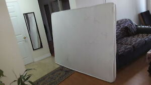 Queen Foam mattress - used - only $85