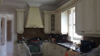 PROFESSIONAL KITCHEN CABINETS REFINISHING SPRAY PAINTING