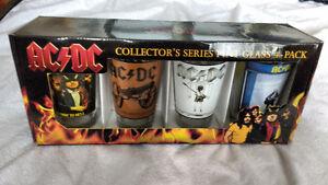 AC/DC 4 Pint Glasses Set Philco's Rare Canadian Rare Album Cover