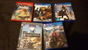 PS3 and PS4 Games - Bundle