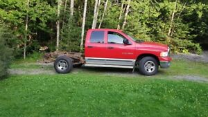 2 x 2002 Ram Trucks 1500  1 is parts trucks