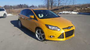 2012 Ford Focus Titanium Hatchback (Fully Loaded - Certified)