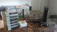 Xbox 360 120gb Console + 46 games