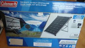 Kit solaire de 100W + inverter de 300W