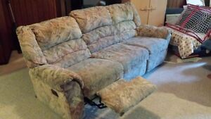 Reclining Couch and Chair Kitchener / Waterloo Kitchener Area image 1