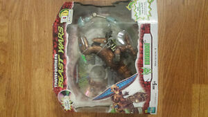 Never opened Transformers Dinobot 10th anniversary with dvd.