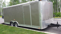 Enclosed Trailer 20 feet long - Less than 2 years old