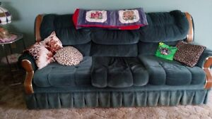 chesterfield and chair plus coffee table shown