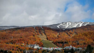 Tremblant- Resort -mountain view-