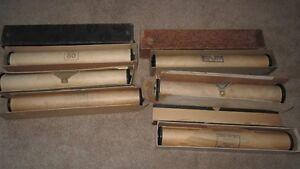 6 Antique Player Piano Rolls ---HALF Price