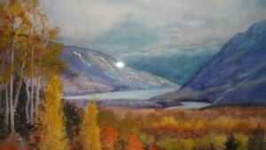 For trade: Painting, signed by Marion Anderson Utting (Canadian)