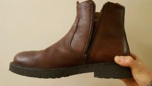 Chaussure botte homme Marlboro classics taille 43 cuir marron.