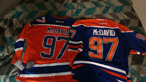 Mint condition mcdavid oilers jearsys 2 for the price of 1