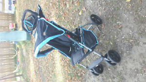 Baby stroller and snuggie