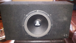 "JL 12"" sub & set up"