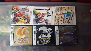 Various Nintendo 3ds & ds games