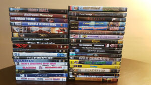 DVDs $30 for all, or offer for titles