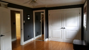 Dieppe 3bed 1 1/2 bath house double garage for rent