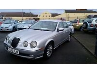 2004 MODEL JAGUAR S-TYPE 2.5 V6 AUTO FULL MOT *JUST REDUCED BY 500*