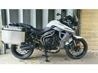 Triumph Tiger 800 XRT, 2017, 4,909 Miles, Immaculate Condition, 1 Owner