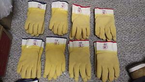 Work Glove Sale - Kevlar Lined Rubber Gloves - cut resistant
