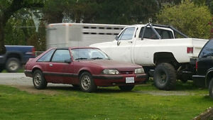 1987 Ford Mustang Lx Hatchback