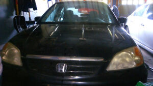 2001 Honda Civic 4 doors sedan Sedan