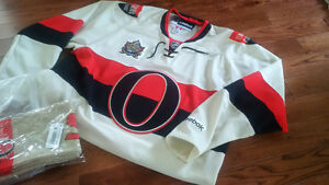 Mens Official Ottawa Senators Heritage Classic jersey and extras