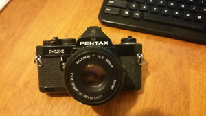 Pentax MX film cam. Trade for Canon lens