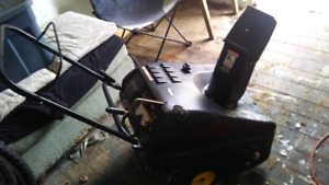 Brute snow blower for sale