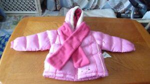 NEW Oshkosh winter coat  size 4