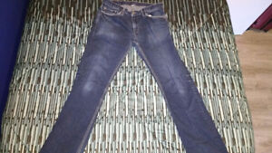 Cheap Men's Banana Republic, Dark Blue Jeans 33x34 Kitchener / Waterloo Kitchener Area image 1