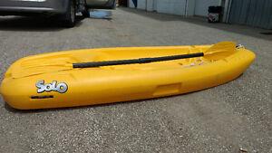 2 kids kayaks